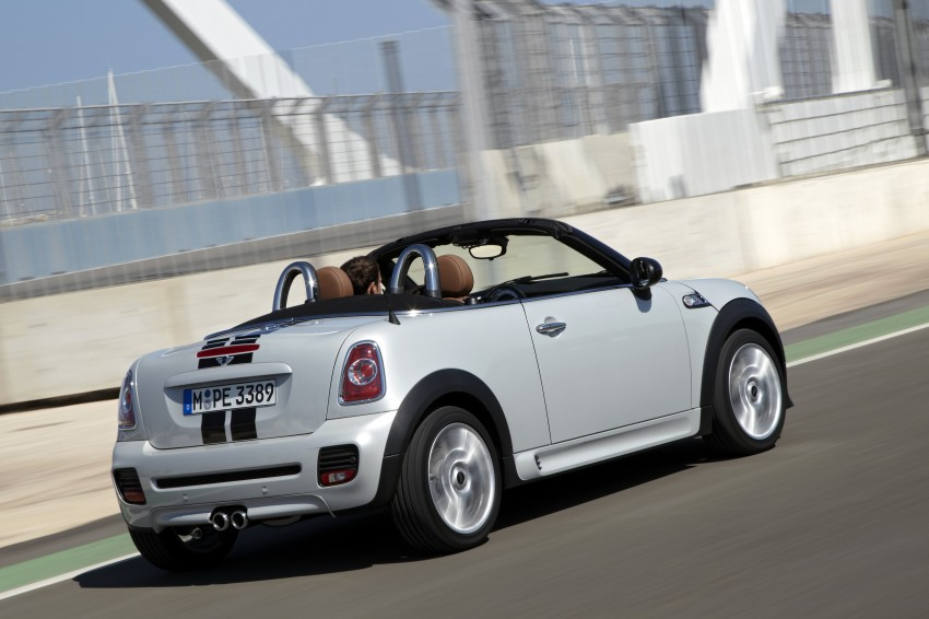 MINI Roadster – production drop top MINI Coupe unveiled! Image #75005