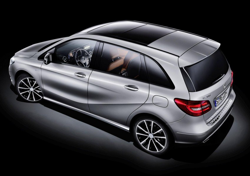 All-new Mercedes-Benz B-Class officially revealed! Image #66161