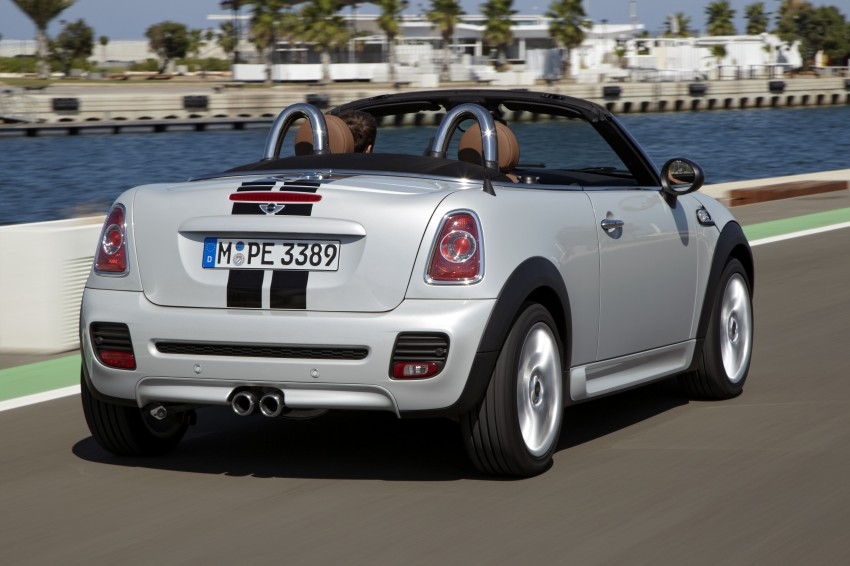 MINI Roadster – production drop top MINI Coupe unveiled! Image #75006