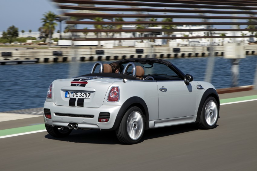MINI Roadster – production drop top MINI Coupe unveiled! Image #75007