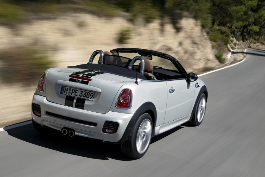 MINI Roadster – production drop top MINI Coupe unveiled! Image #75009