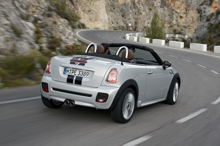 MINI Roadster – production drop top MINI Coupe unveiled! Image #75010