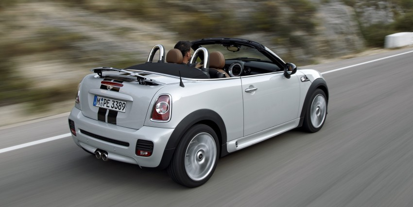 MINI Roadster – production drop top MINI Coupe unveiled! Image #75011