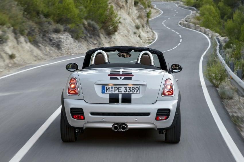 MINI Roadster – production drop top MINI Coupe unveiled! Image #75012