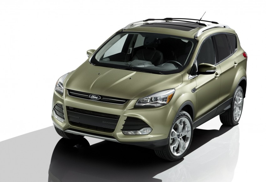 2013 Ford Escape debuts in LA – call it the Kuga too! Image #76810