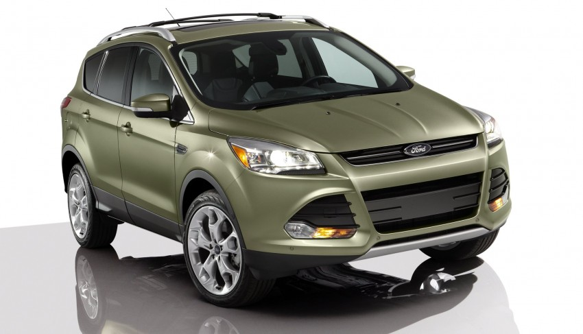 2013 Ford Escape debuts in LA – call it the Kuga too! Image #76812