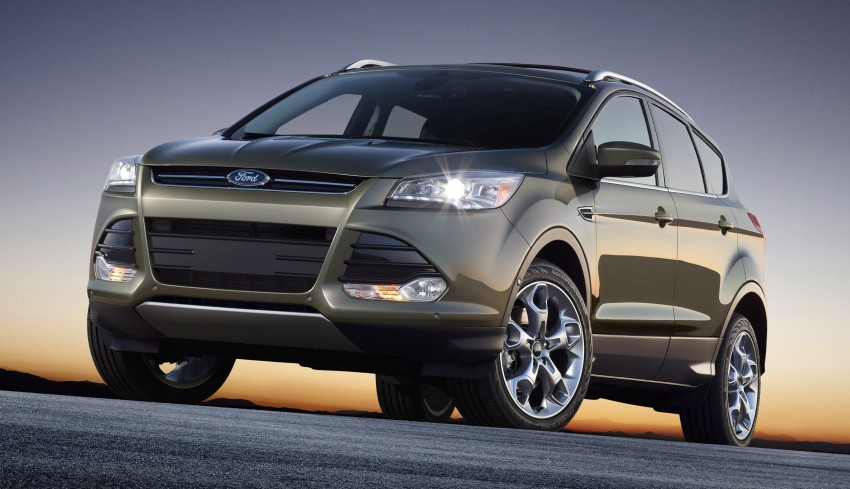 2013 Ford Escape debuts in LA – call it the Kuga too! Image #76819
