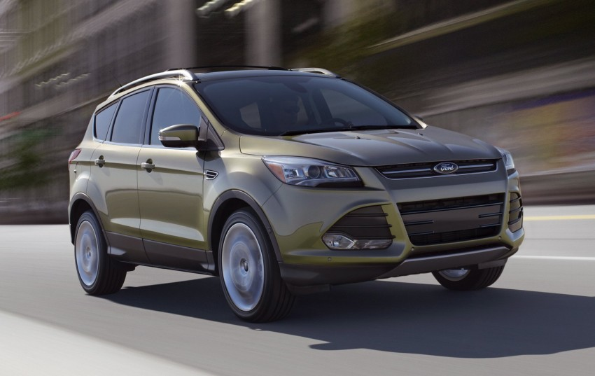 2013 Ford Escape debuts in LA – call it the Kuga too! Image #76821