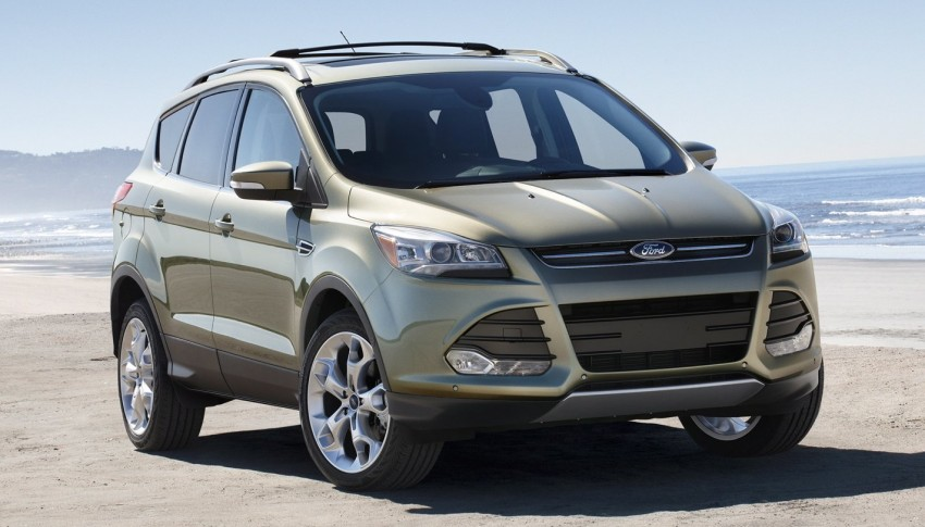 2013 Ford Escape debuts in LA – call it the Kuga too! Image #76823