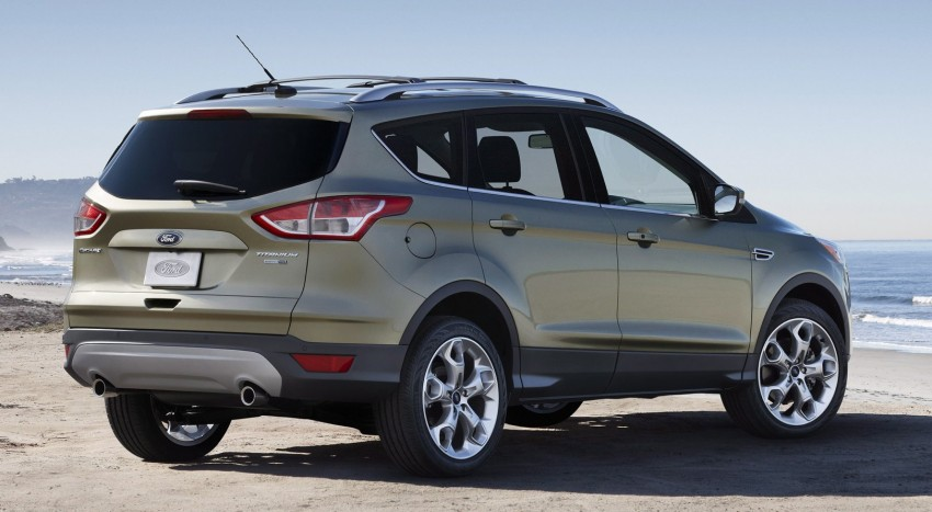 2013 Ford Escape debuts in LA – call it the Kuga too! Image #76824