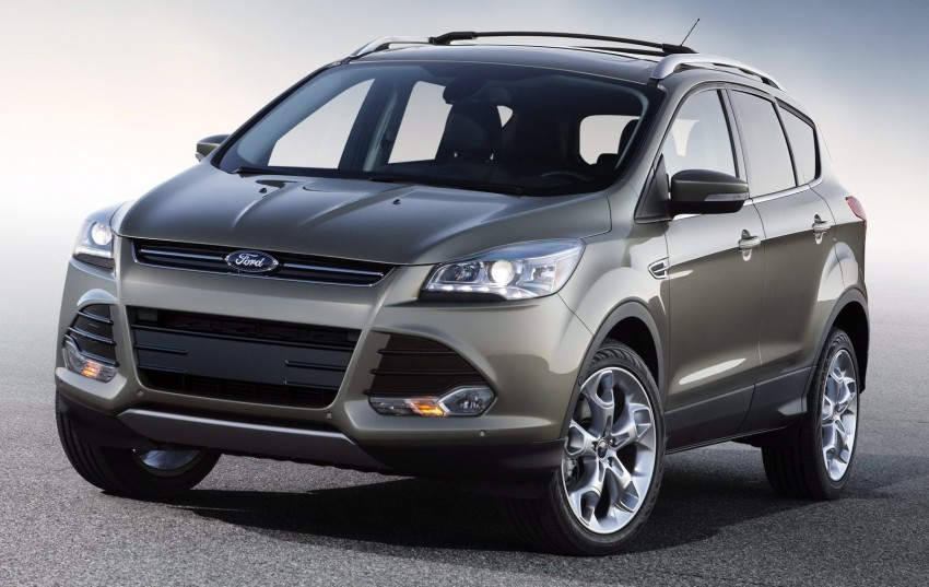 2013 Ford Escape debuts in LA – call it the Kuga too! Image #76825