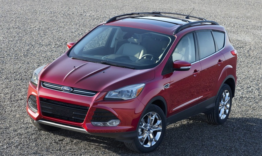 2013 Ford Escape debuts in LA – call it the Kuga too! Image #76838