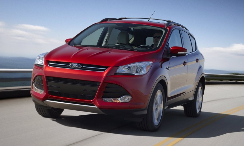2013 Ford Escape debuts in LA – call it the Kuga too! Image #76839