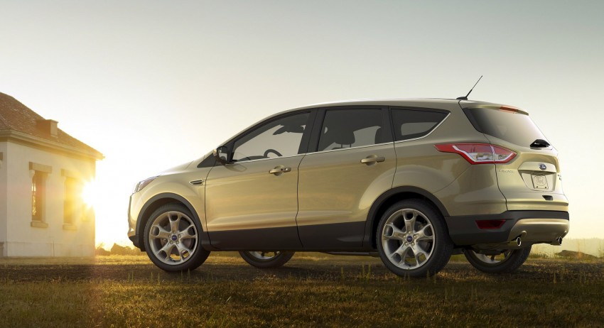 2013 Ford Escape debuts in LA – call it the Kuga too! Image #76843