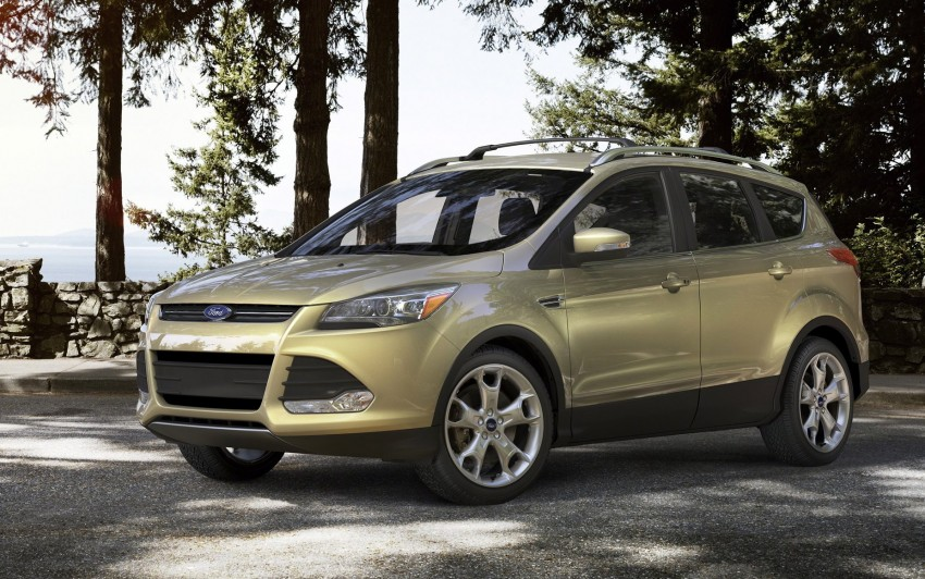 2013 Ford Escape debuts in LA – call it the Kuga too! Image #76844