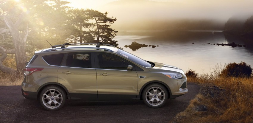 2013 Ford Escape debuts in LA – call it the Kuga too! Image #76845