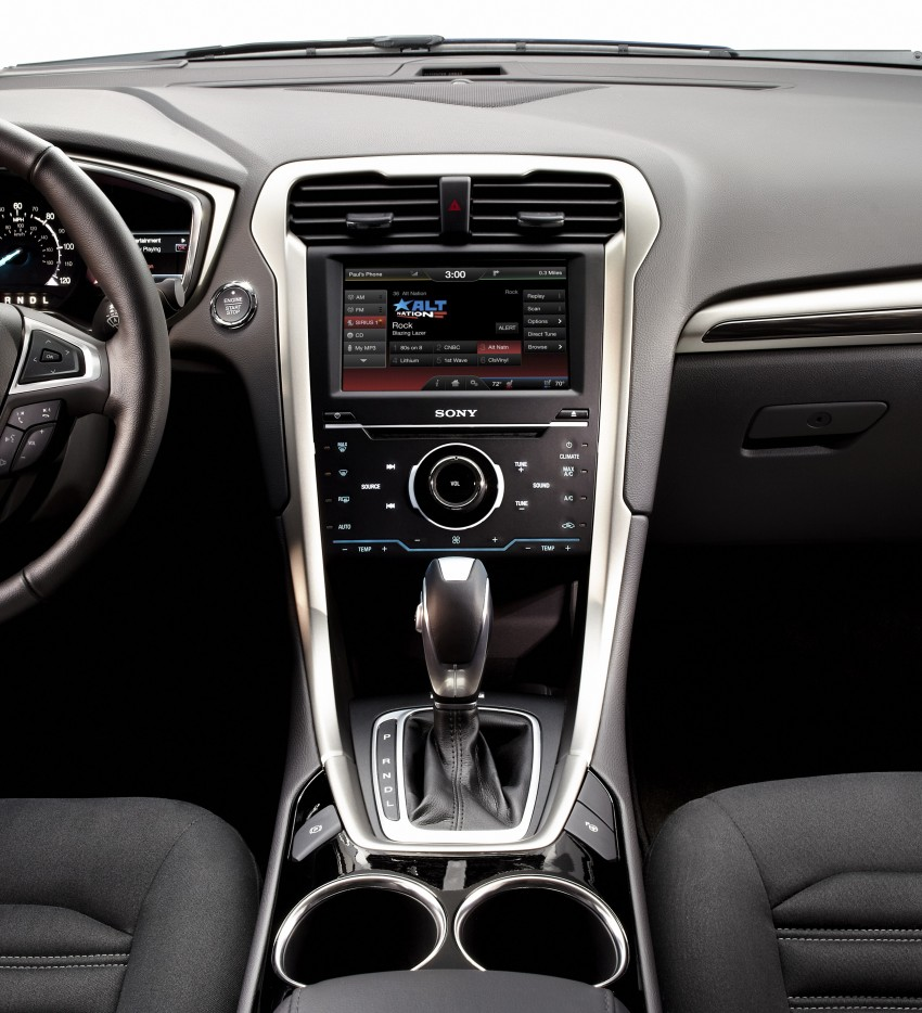 New Ford Fusion previews next-gen Mondeo for the world Image #83485