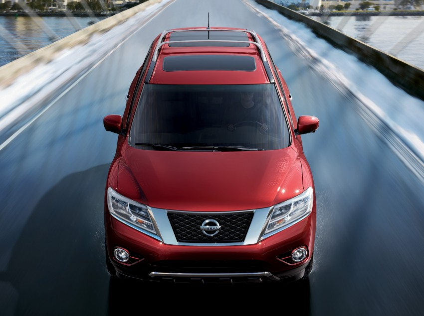 Production Nissan Pathfinder is identical to concept Image #122589