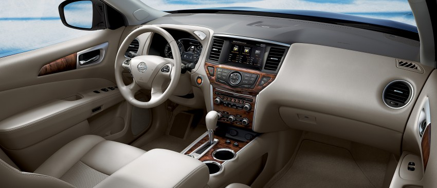 Production Nissan Pathfinder is identical to concept Image #122586