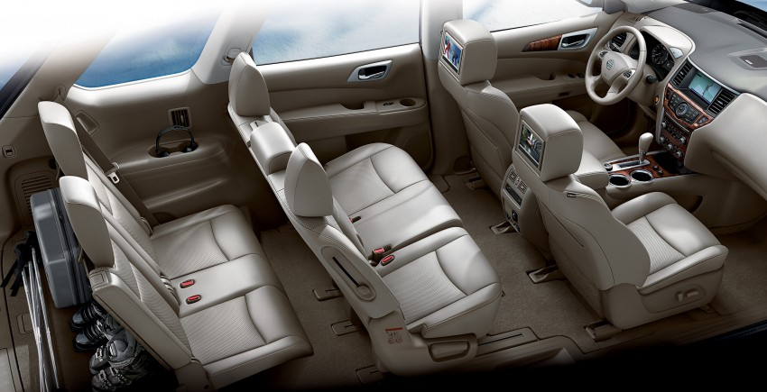 Production Nissan Pathfinder is identical to concept Image #122588