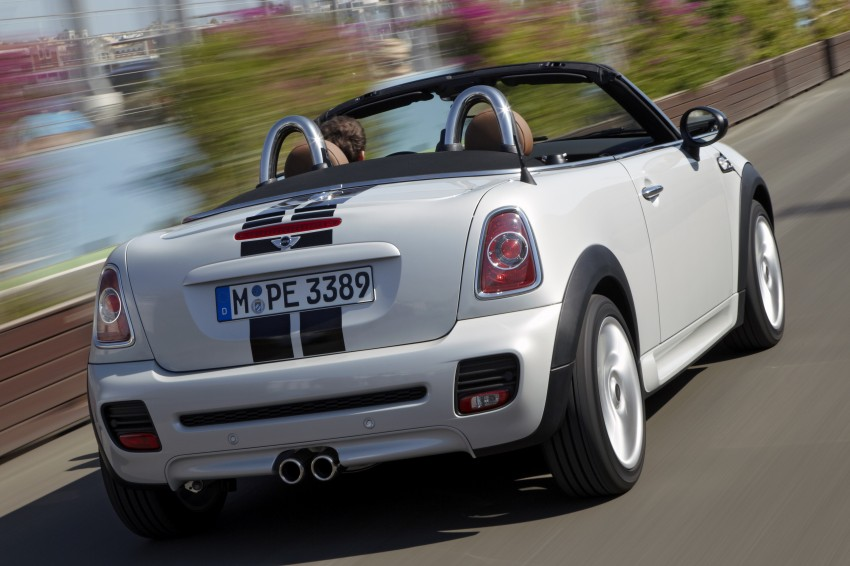 MINI Roadster – production drop top MINI Coupe unveiled! Image #75013