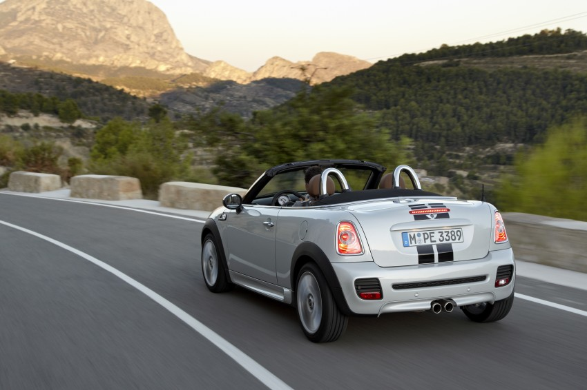 MINI Roadster – production drop top MINI Coupe unveiled! Image #75014