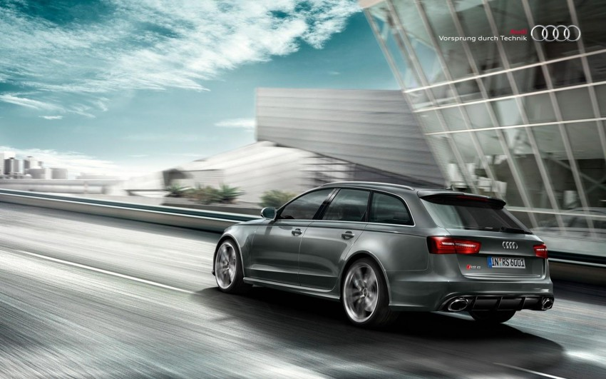 Audi RS 6 Avant – 560 PS, 0-100 km/h in 3.9 seconds Image #144868