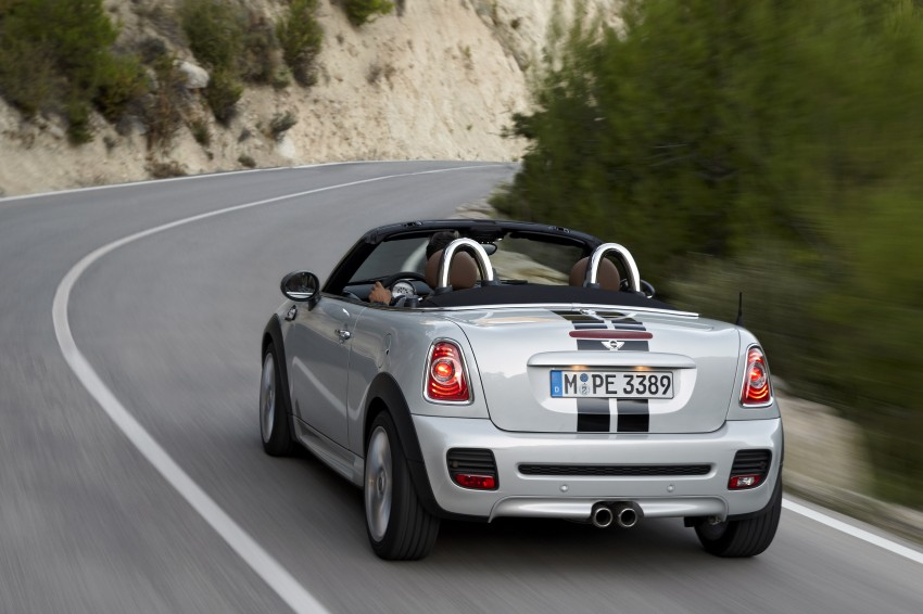 MINI Roadster – production drop top MINI Coupe unveiled! Image #75015