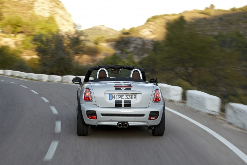 MINI Roadster – production drop top MINI Coupe unveiled! Image #75016