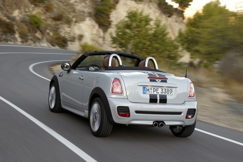 MINI Roadster – production drop top MINI Coupe unveiled! Image #75017