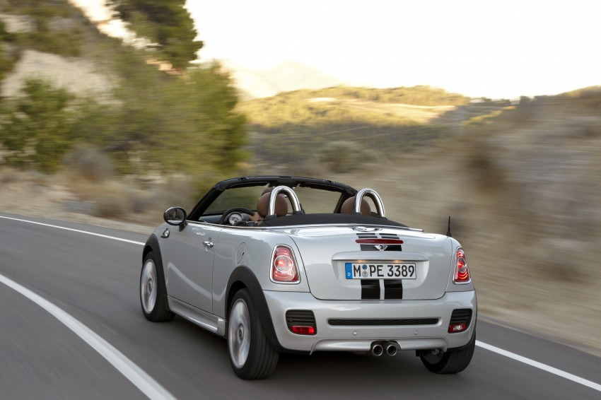 MINI Roadster – production drop top MINI Coupe unveiled! Image #75018