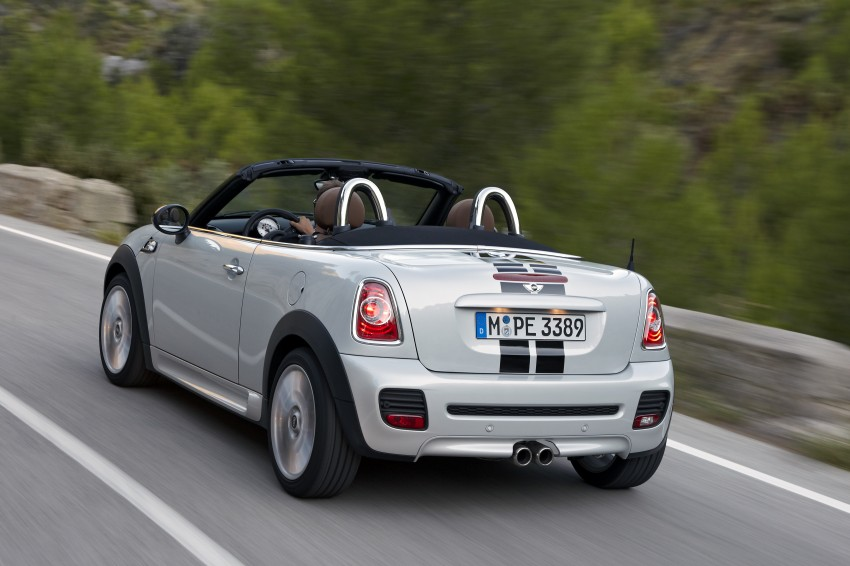 MINI Roadster – production drop top MINI Coupe unveiled! Image #75019