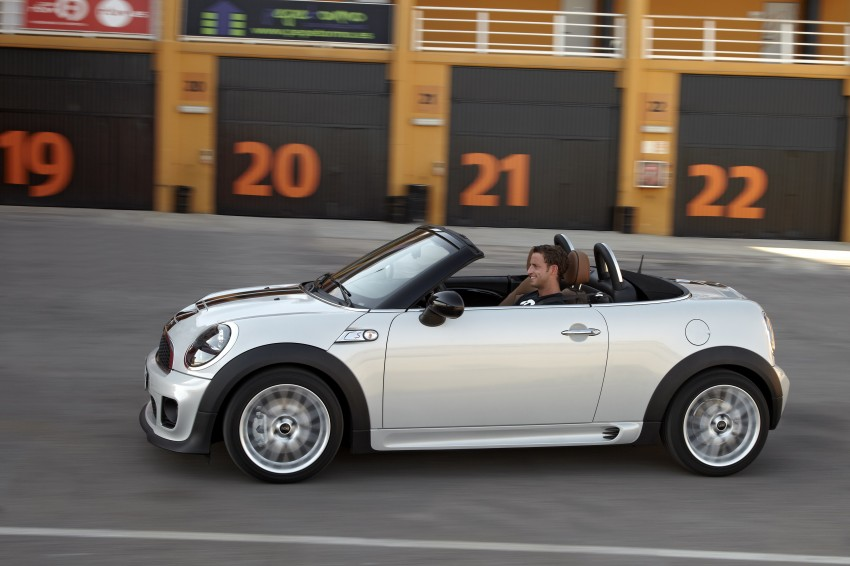 MINI Roadster – production drop top MINI Coupe unveiled! Image #75020