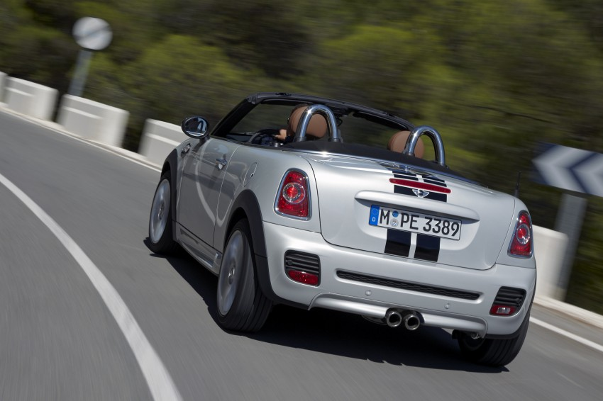 MINI Roadster – production drop top MINI Coupe unveiled! Image #75021