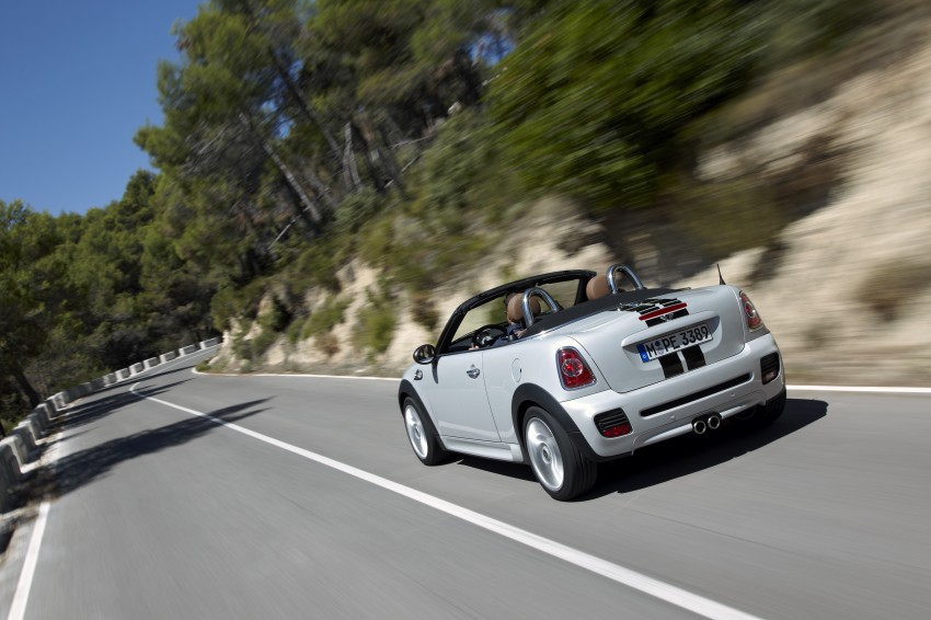 MINI Roadster – production drop top MINI Coupe unveiled! Image #75022