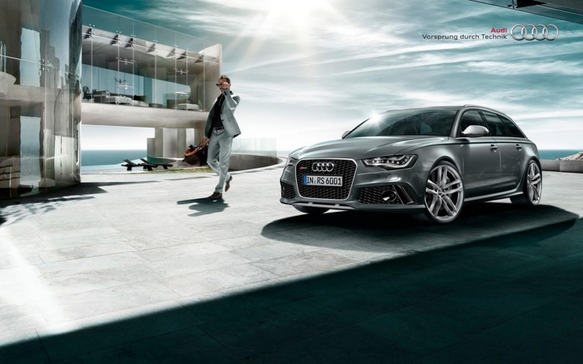 Audi RS 6 Avant – 560 PS, 0-100 km/h in 3.9 seconds Image #144867