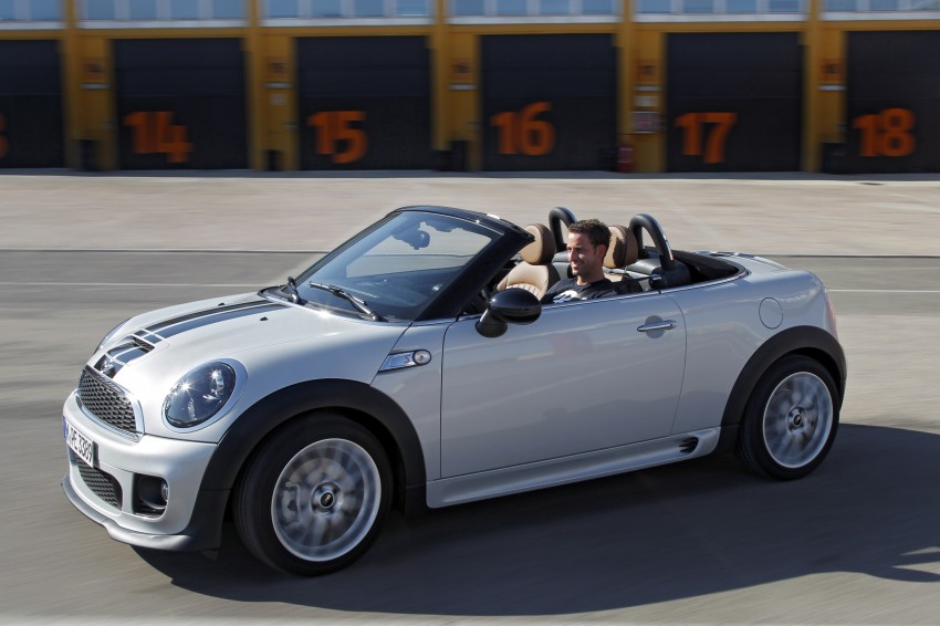 MINI Roadster – production drop top MINI Coupe unveiled! Image #75024