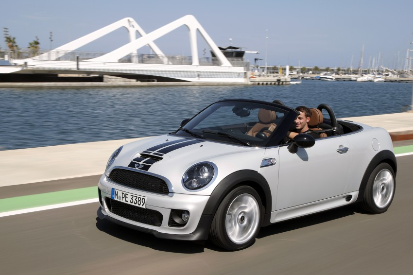 MINI Roadster – production drop top MINI Coupe unveiled! Image #75025