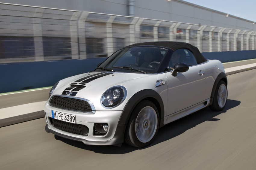 MINI Roadster – production drop top MINI Coupe unveiled! Image #75026
