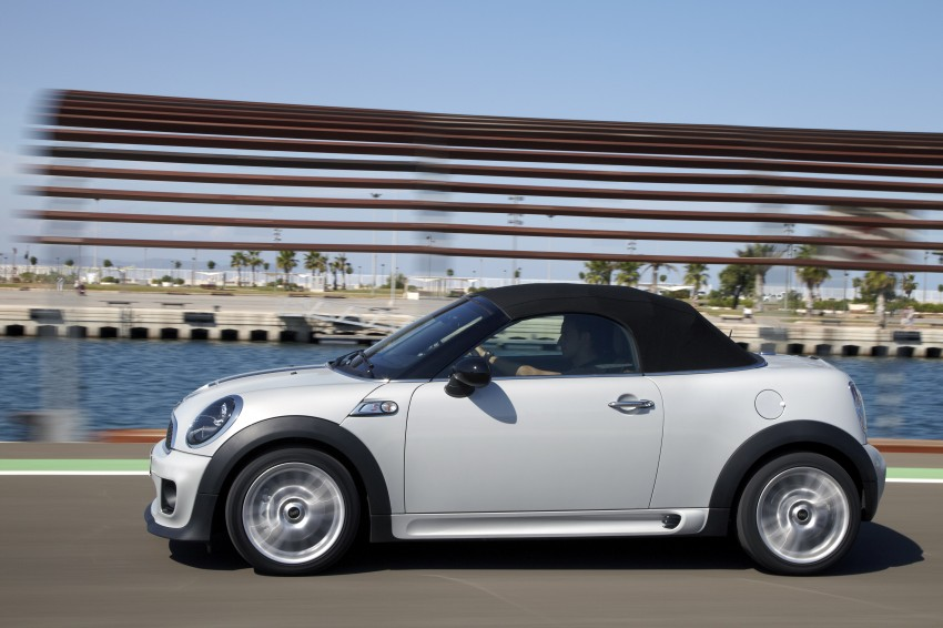 MINI Roadster – production drop top MINI Coupe unveiled! Image #75027