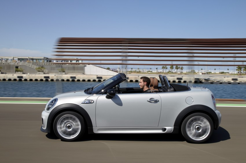 MINI Roadster – production drop top MINI Coupe unveiled! Image #75028