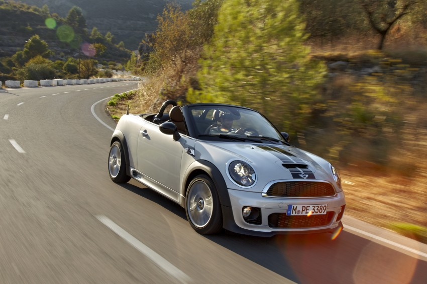 MINI Roadster – production drop top MINI Coupe unveiled! Image #75029