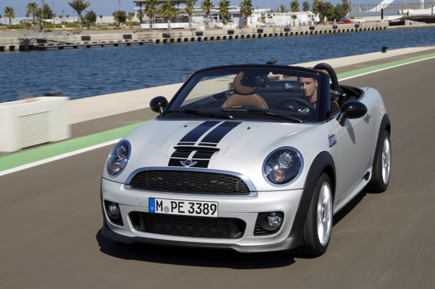 MINI Roadster – production drop top MINI Coupe unveiled! Image #75030