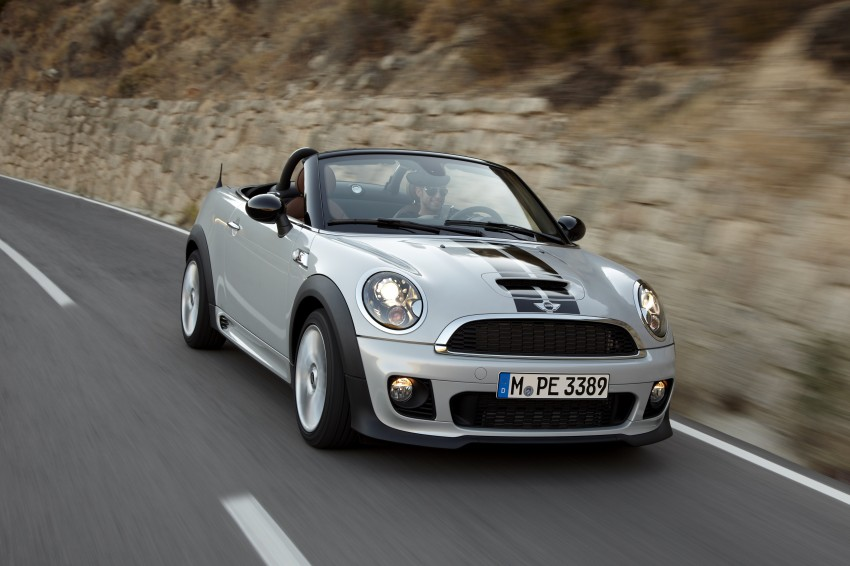 MINI Roadster – production drop top MINI Coupe unveiled! Image #75032