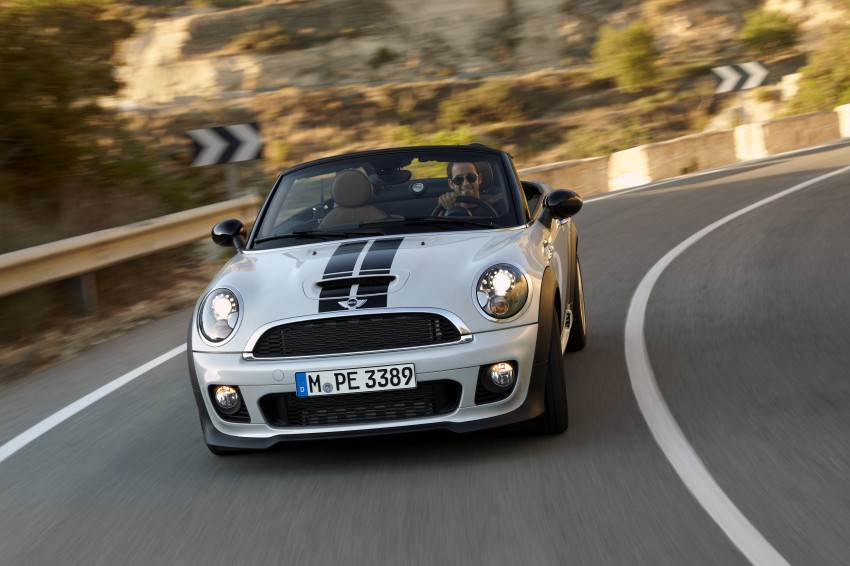 MINI Roadster – production drop top MINI Coupe unveiled! Image #75033