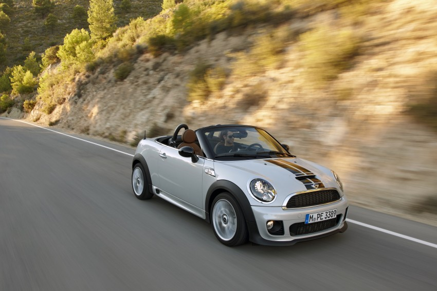 MINI Roadster – production drop top MINI Coupe unveiled! Image #75034