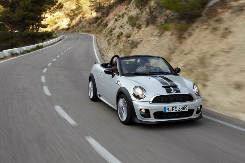 MINI Roadster – production drop top MINI Coupe unveiled! Image #75035