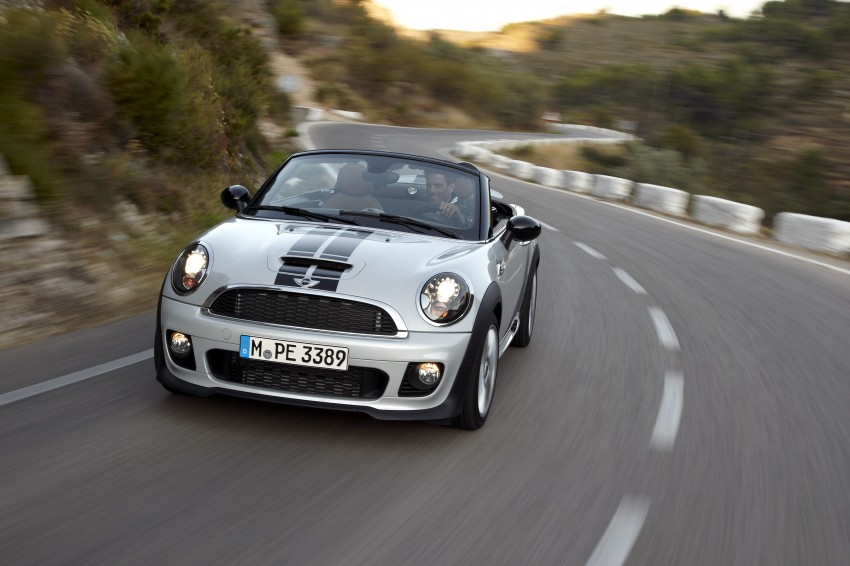 MINI Roadster – production drop top MINI Coupe unveiled! Image #75036