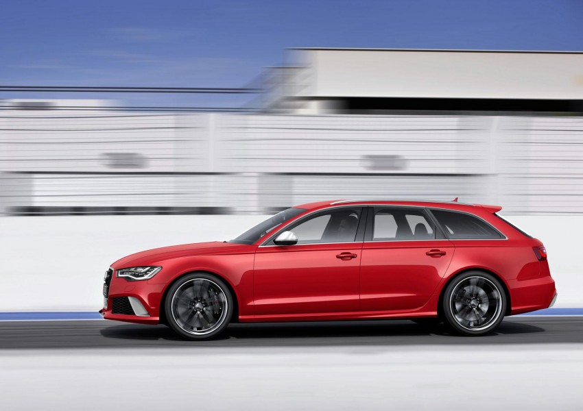 Audi RS 6 Avant – 560 PS, 0-100 km/h in 3.9 seconds Image #144857