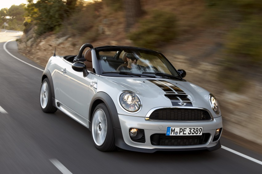 MINI Roadster – production drop top MINI Coupe unveiled! Image #75037